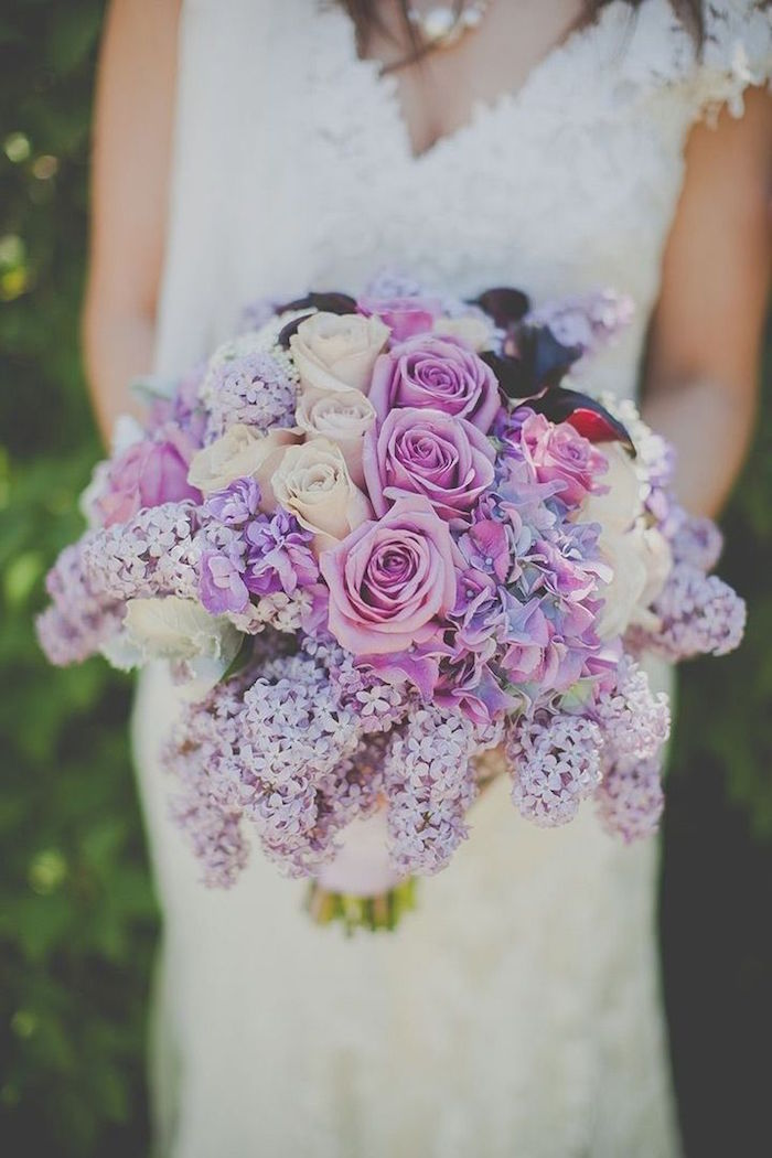 Wedding Bouquets Variety : Wedding bouquets with elegant colors modwedding