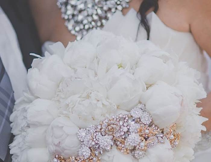 The Prettiest Wedding Bouquets with Elegant Colors