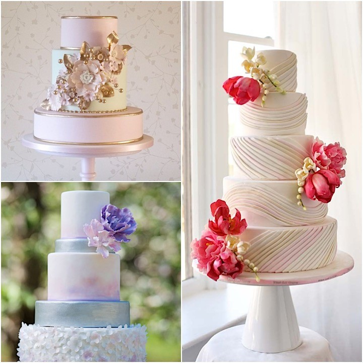 Wedding Cake Inspiration Ideas: Blissfully Beautiful Wedding Cake Inspiration