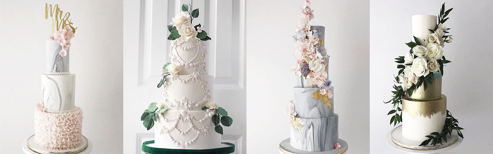 The Most Beautiful Wedding Cakes for Every Wedding Style