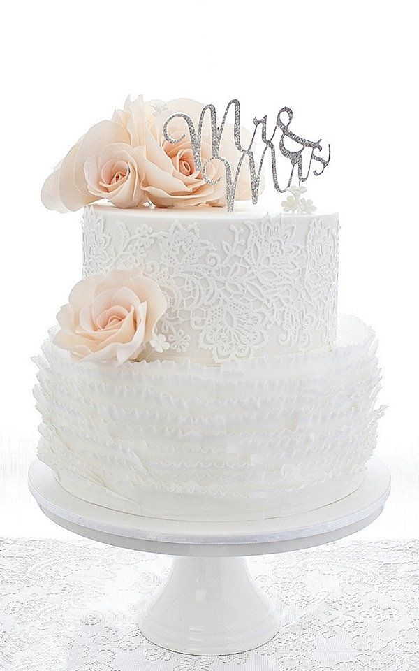 Wedding cakes that are elegantly simple modwedding wedding cakes 14 11022015 km junglespirit Gallery