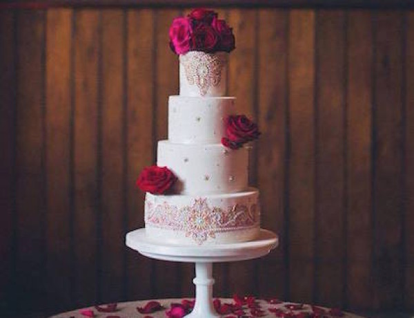 Beautiful Wedding Cakes from Curtis & Co. Cakes
