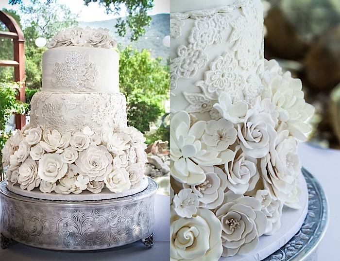 Wedding Cakes with Beautifully Rustic Details