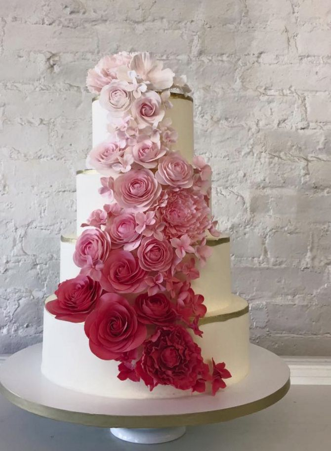 the knot wedding cakes brooklyn wedding cakes with gorgeous details modwedding 20857