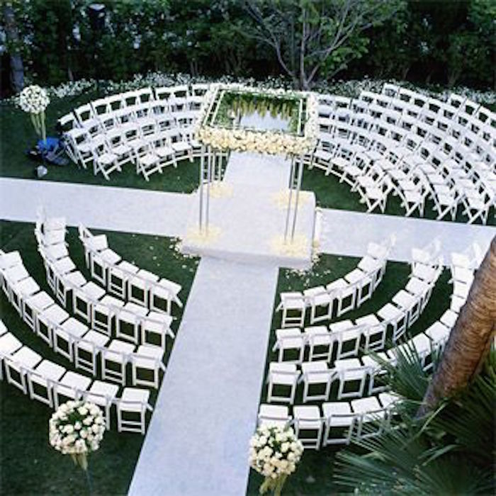 Wedding Ceremony Setup Ideas: Outdoor Wedding Ideas That Are Easy To Love