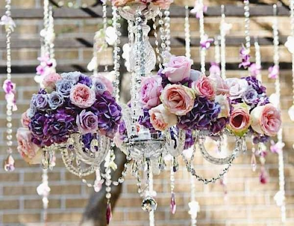 Wedding Chandeliers Add Glamour To The Decor