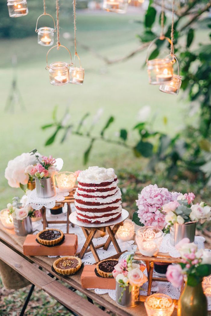 Cake Table Ideas For Weddings : Wedding Dessert Table Ideas - MODwedding
