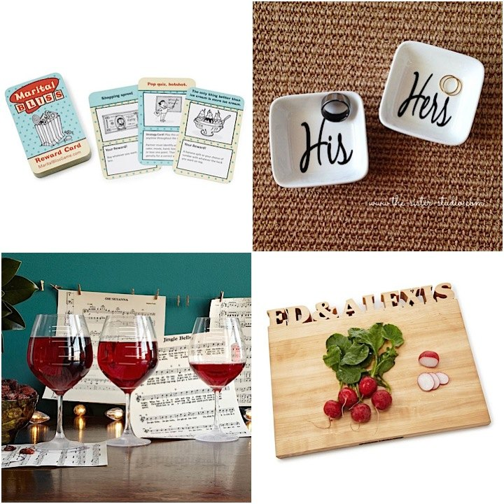 Wedding Gift Ideas For Bride To Be : Adorably Sweet Wedding Gifts for the Bride and Groom