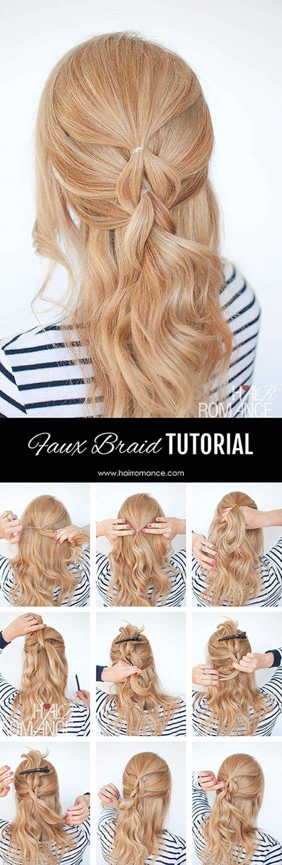 wedding hairstyle tutorial by hair romance modwedding