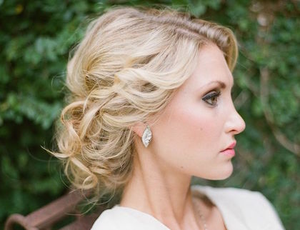 Wedding Hairstyle with Adorable Details - MODwedding