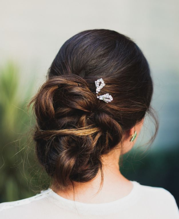 17 Wedding Hairstyles You Ll Adore: Wedding Hairstyles With Chic Elegance