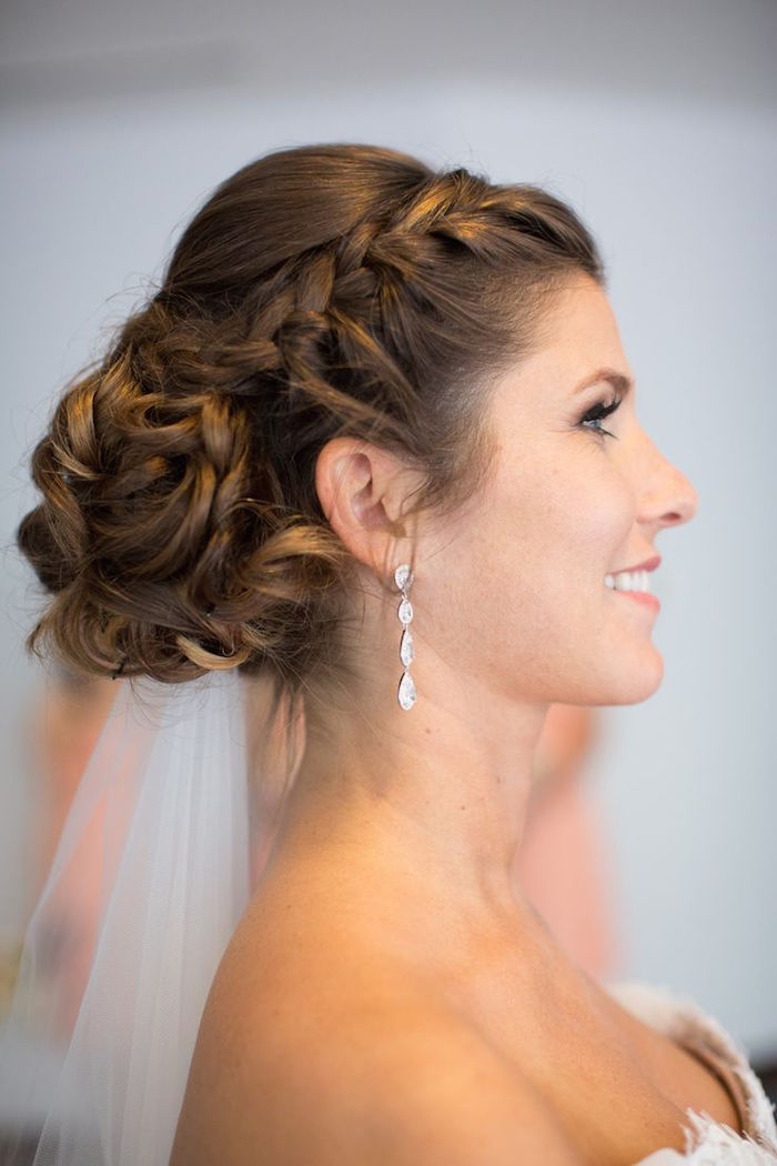 hair wedding styles bridesmaid wedding hairstyle with adorable details modwedding 6654