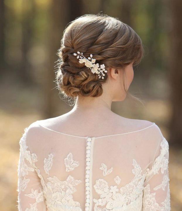 Classic Hairstyles For Weddings: Wedding Hairstyles With Chic Elegance