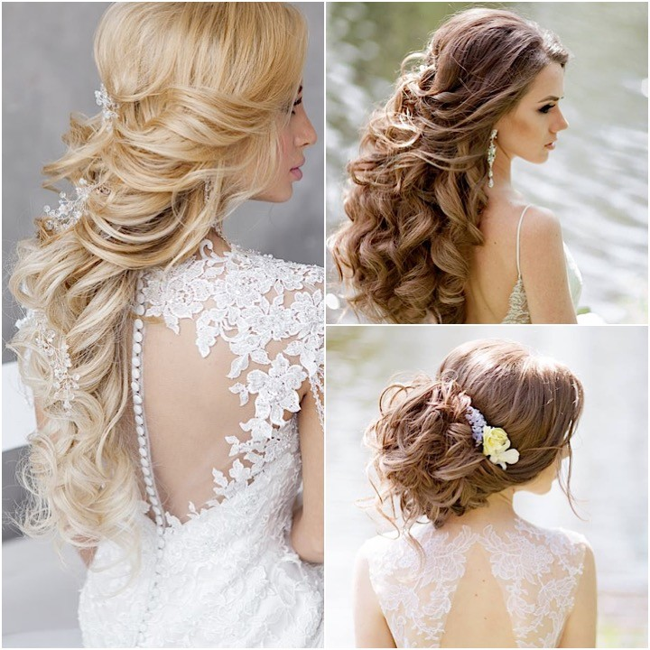 Excellent Wedding Hairstyles For A Gorgeous Wavy Look Modwedding Hairstyles For Women Draintrainus