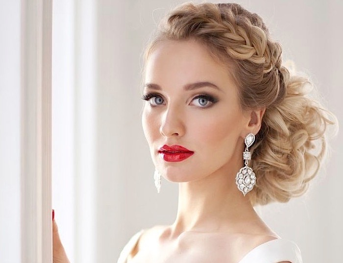 Top 20 Fabulous Updo Wedding Hairstyles: Fabulous Wedding Hairstyles From Elstile