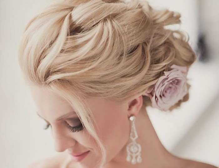 Wedding Hairstyles For The Glamorous Look