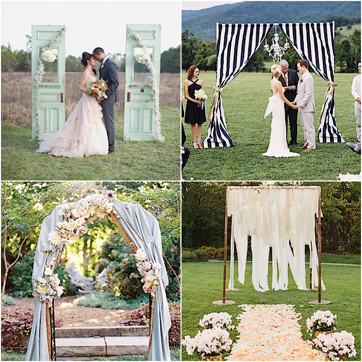 60 Amazing Wedding Altar Ideas Structures For Your: 20 Wedding Ideas For Amazing Ceremony Structures