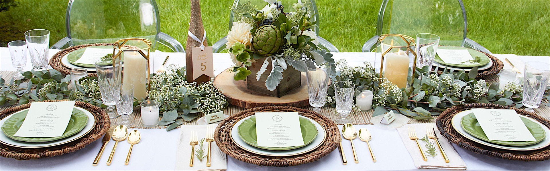 Wedding Ieas: Tablescapes That Are Anything But Boring