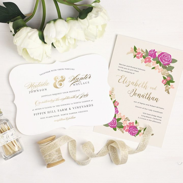 2017 wedding invitation trends you need to know modwedding wedding invitation 1 112016mc stopboris Image collections