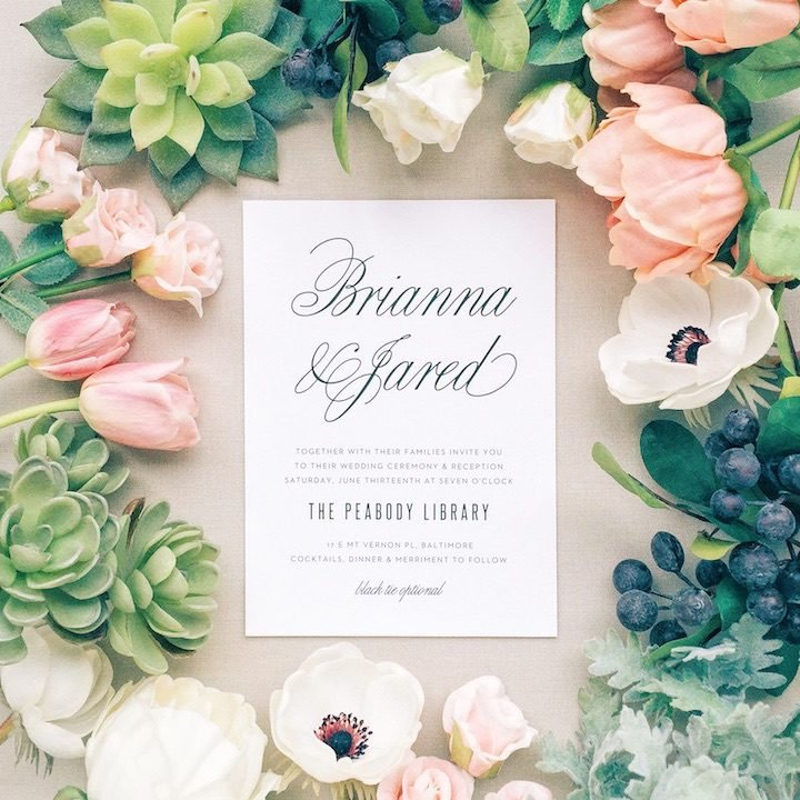 love should design your wedding invites