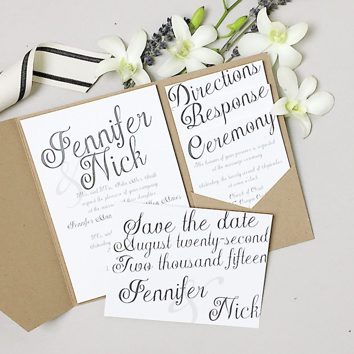 2017 Wedding Invitation Trends You Need To Know - MODwedding