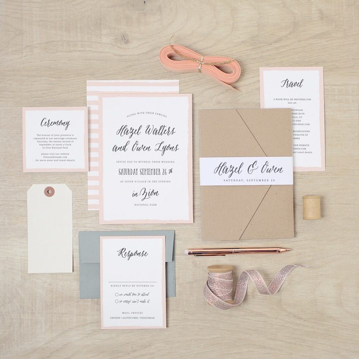 2017 wedding invitation trends you need to know modwedding wedding invitation 8 112016mc stopboris Image collections