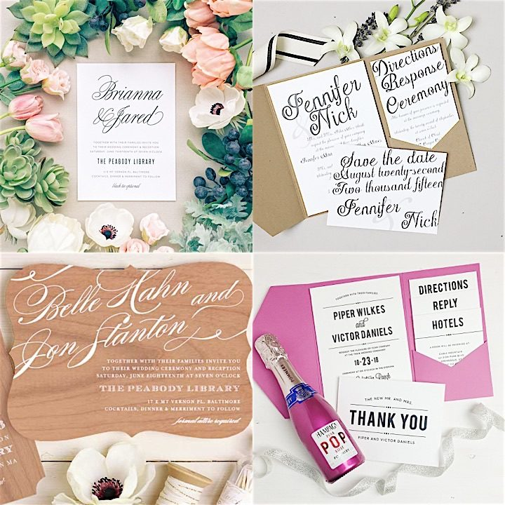 2017 Wedding Invitation Trends You Need To Know! - Dave Shannon Music