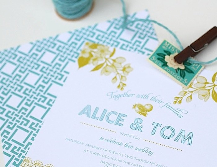 wedding invitation templates you will love modwedding - Free Wedding Templates