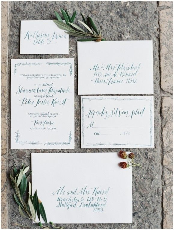Related Lovely Wedding Invitations And Stationery Ideas For Inspiration