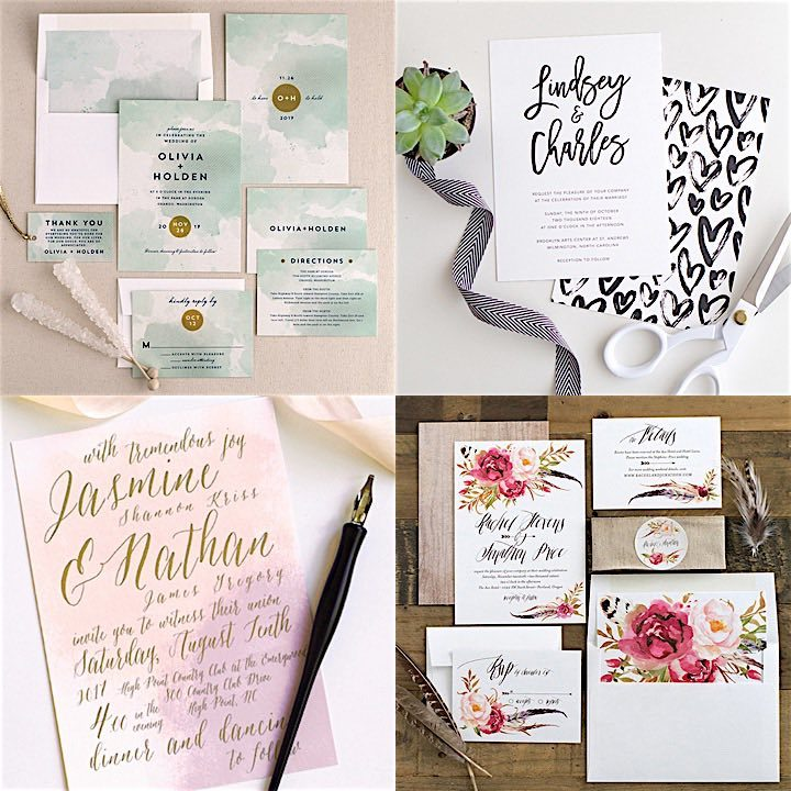 Finding the perfect wedding invitation design for your wedding is