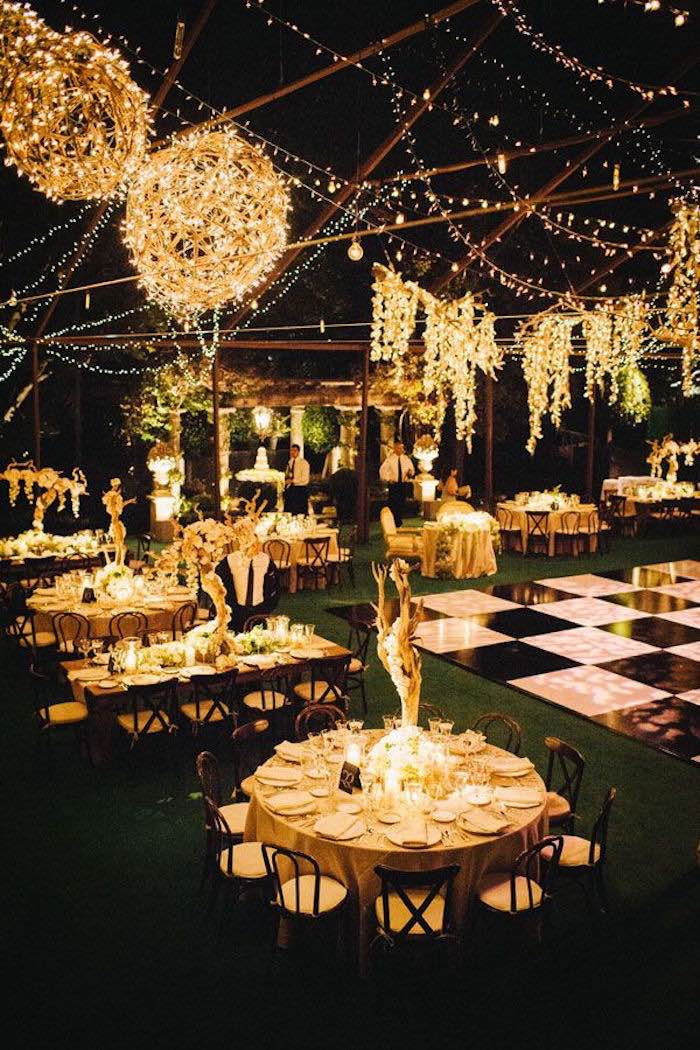 Outdoor wedding ideas that are easy to love modwedding for Wedding reception ideas for spring