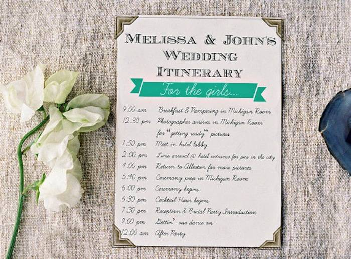 How To Create The Perfect Reception Timeline: Wedding Reception Timeline Planning Guide