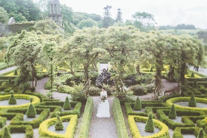 Ireland wedding at the bantry house modwedding - Countryside dream gardens ...