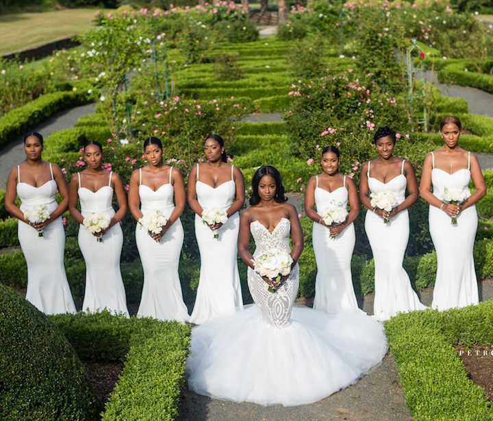 Shaq Drew S Jamaican Wedding At The Lakeside Gramercy Bridal T Selina Howard Of Vainglorious
