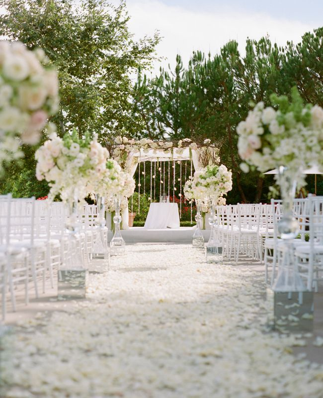 White Wedding Ideas with Elegance MODwedding