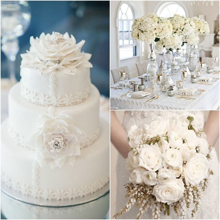 Wonderfully Elegant White Wedding Ideas Party Pros