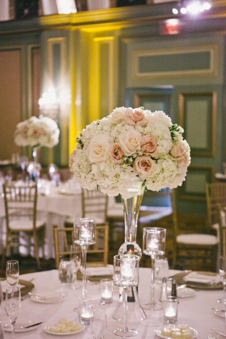 Classic white california wedding at the langham huntington for 720 salon celebration fl