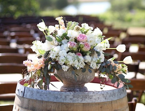 Rustic Chic Paso Robles Winery Wedding