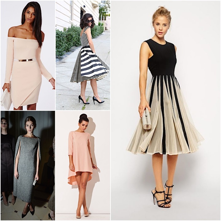 Winter wedding guest dresses we love modwedding for Dressing for wedding guests