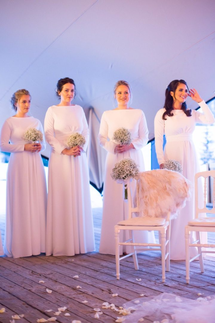 Picture Perfect Winter Wedding In France From Le Secret D