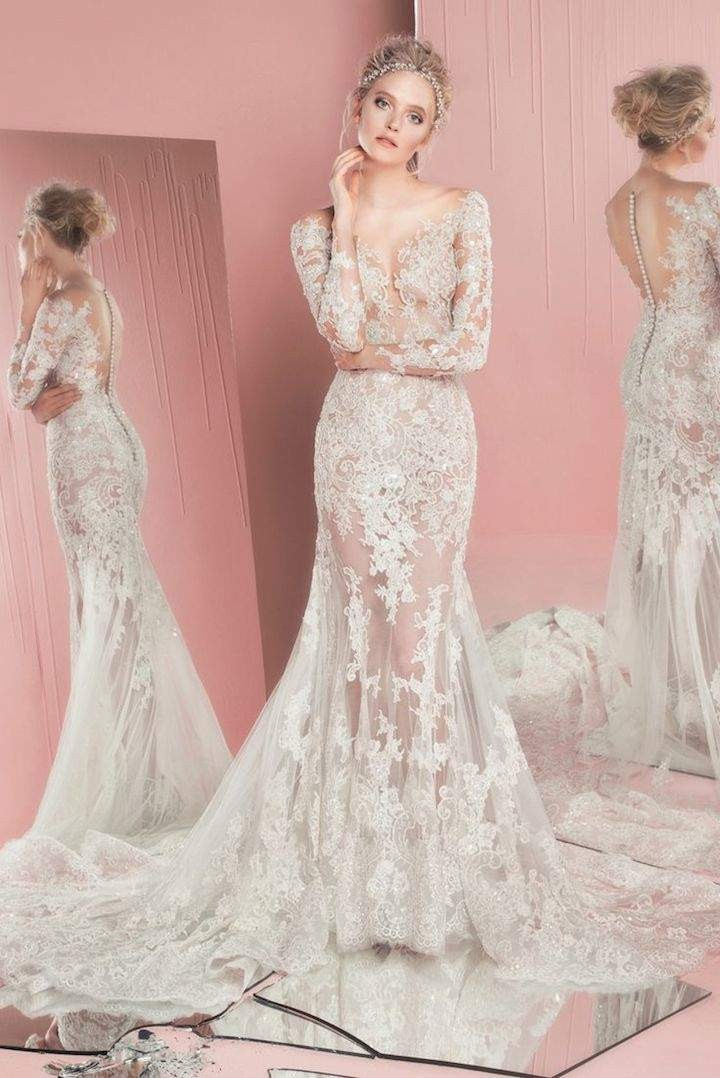 Spring summer 2016 zuhair murad bridal collection modwedding for Zuhair murad wedding dress