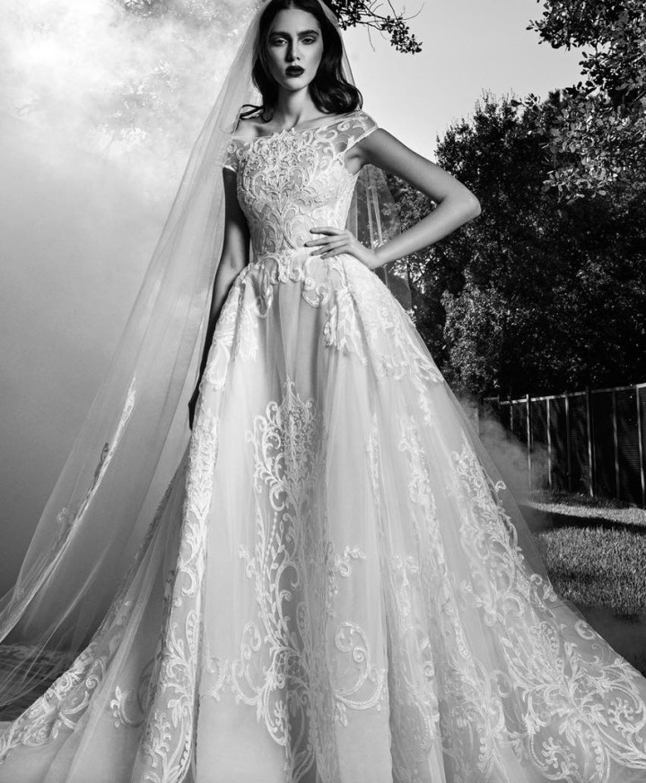 Zuhair murad wedding dresses fall 2016 modwedding for Zuhair murad wedding dress